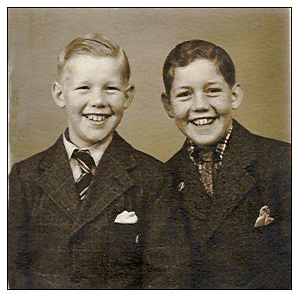 Laurids Hansen og broderen Svend Aage