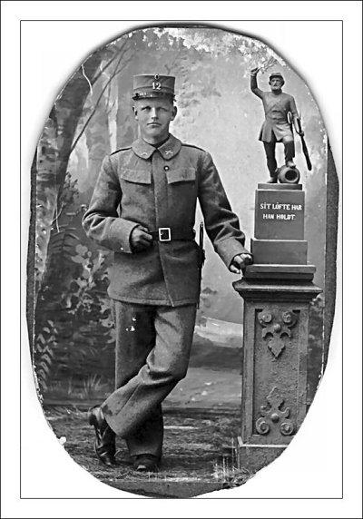 Hans Hansen som soldat