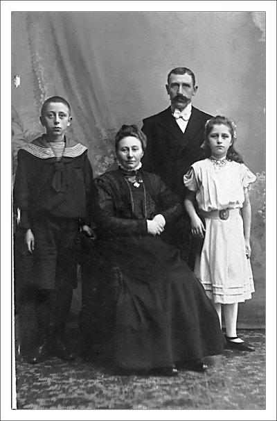 Christian Julius Hansen og familie